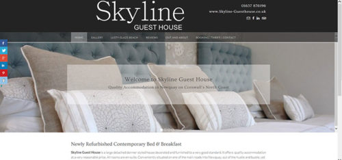 Skyline Guest House in Newquay
