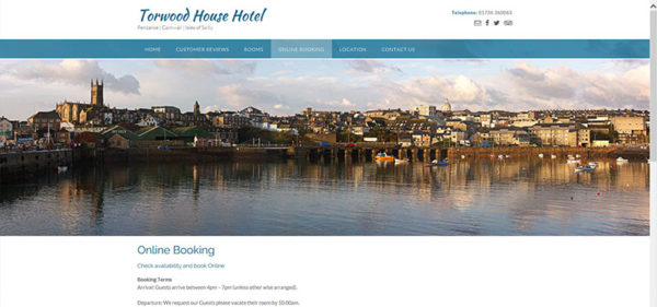 Torwood Guest House in Penzance
