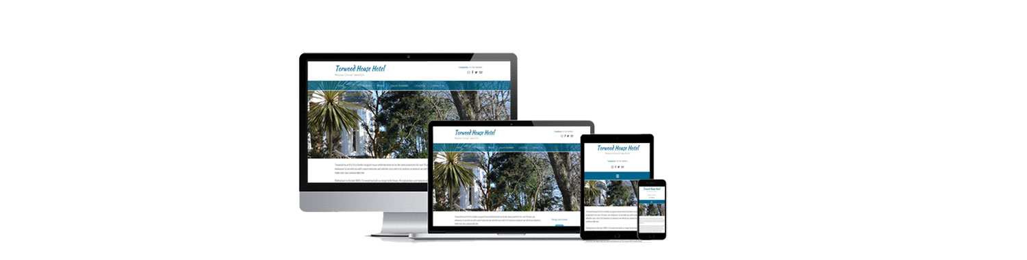 Responsive Website Designs optimised for PCs, Laptops, Ipads and Mobile Phones